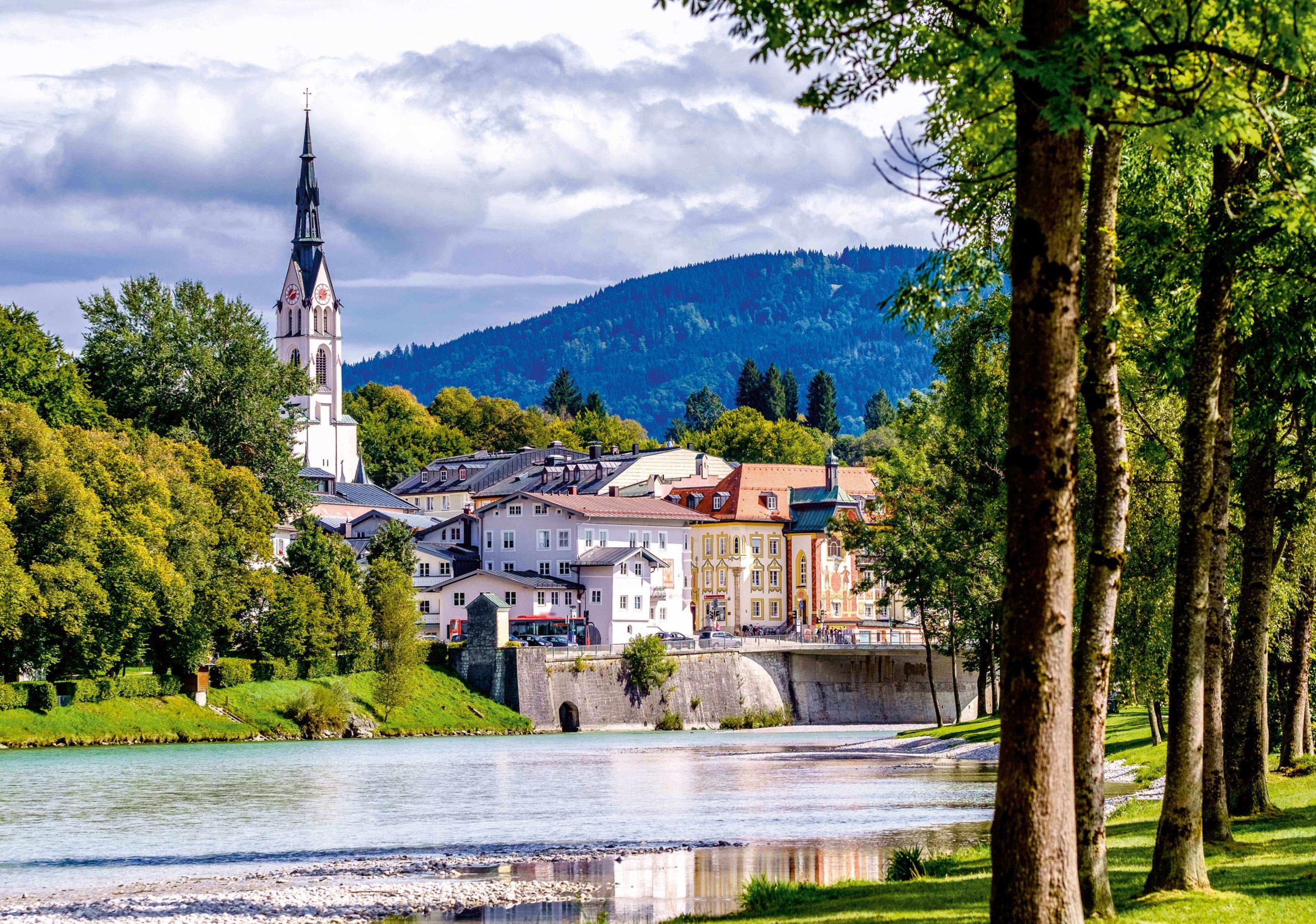 In Bad Tölz ist die Luft besonders rein. Foto: Adobe Stock– fottoo